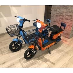 Elektrinė dviratė transporto priemonė Junma, 12 AH